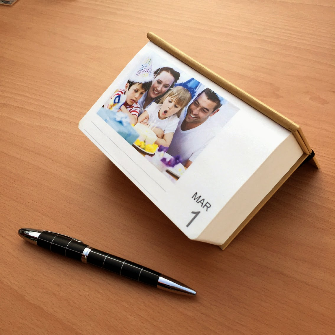 calendar photo gift