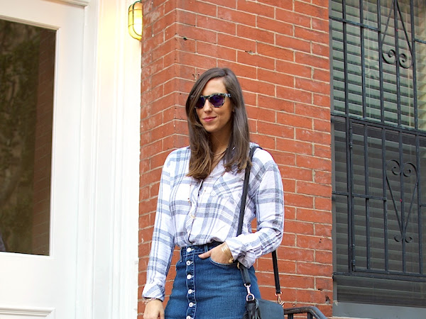Fall Delight: Plaid & Denim