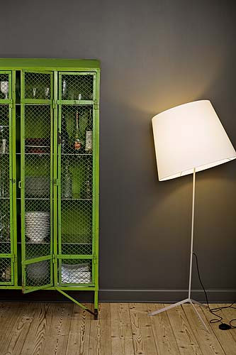 Craft Storage Ideas: Cottage Market Post on Upcycling School Furniture - Locker Idea #2 (image)