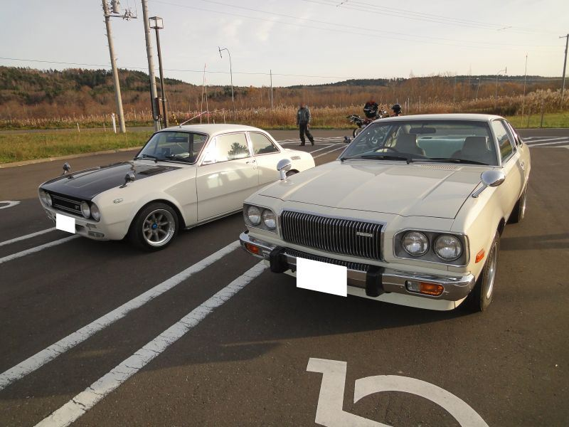 Isuzu Bellett & Mazda Cosmo AP, japońskie klasyki, samochody coupe, fotki, jdm