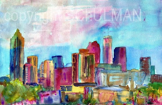 Art blog for the inspiration place georgia on my mind for Painting places in atlanta