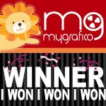 I won the My Grafico Challenge May 2011