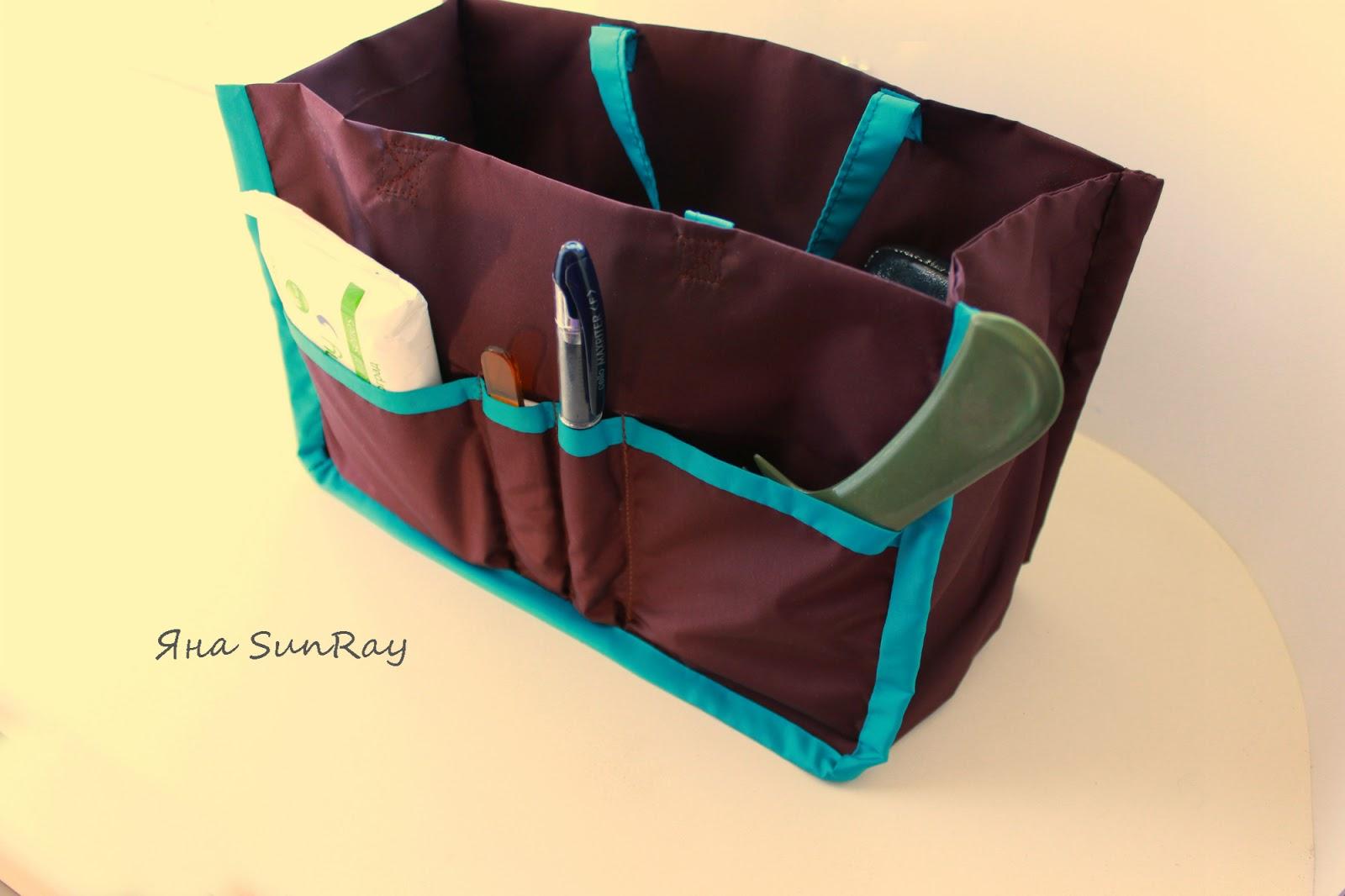 Как сшить хранение сумок