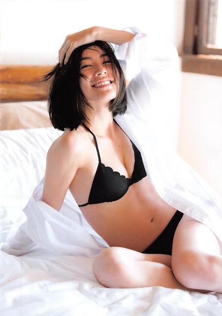 笑顔がこぼれる松井珠理奈