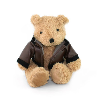 "CENTRUM LINK - LIFESTYLE GIFTS - ""BEAR WITH JACKET"""