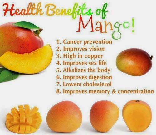 Manfaat Dan Fungsi Mangga Untuk Kesehatan