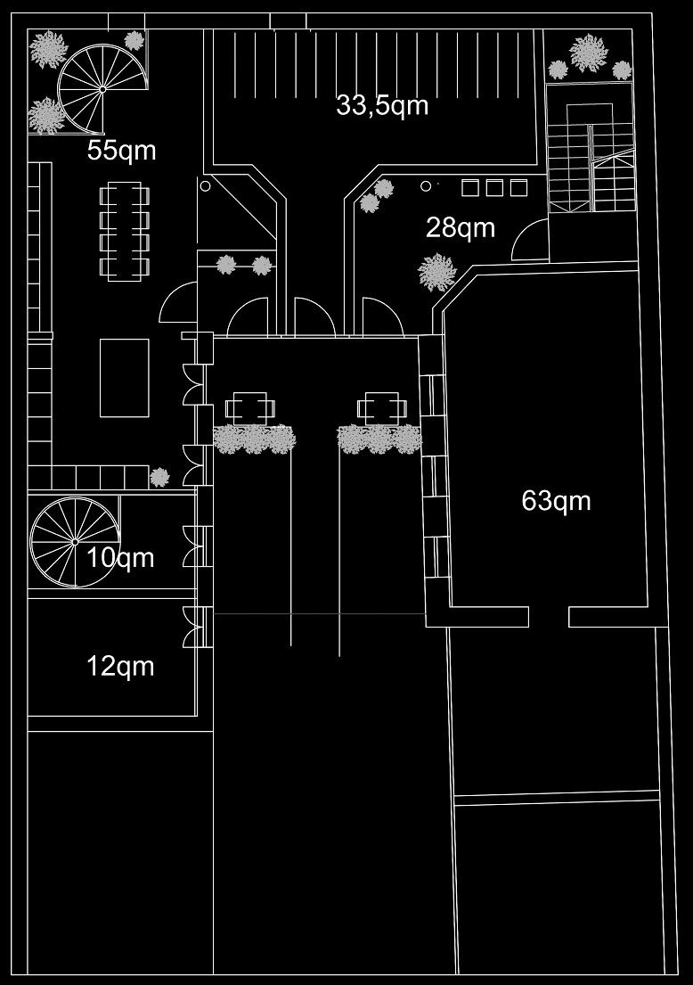 Grobkonzeption - Grundriss - Rückgebäude (05-2012)