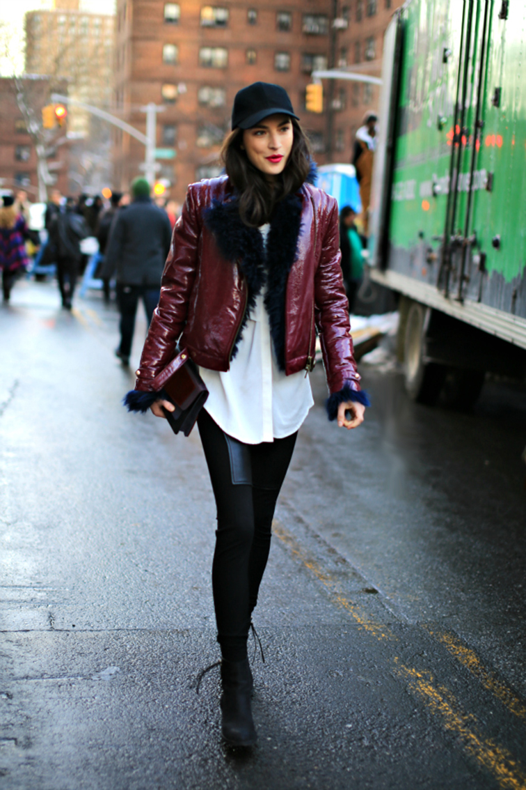 Jacquelyn Jablonski street style, model off duty