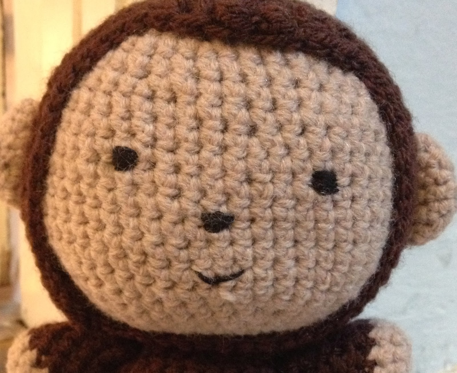 Embroidering Amigurumi Faces : The perfect hiding place: the safety eye debate