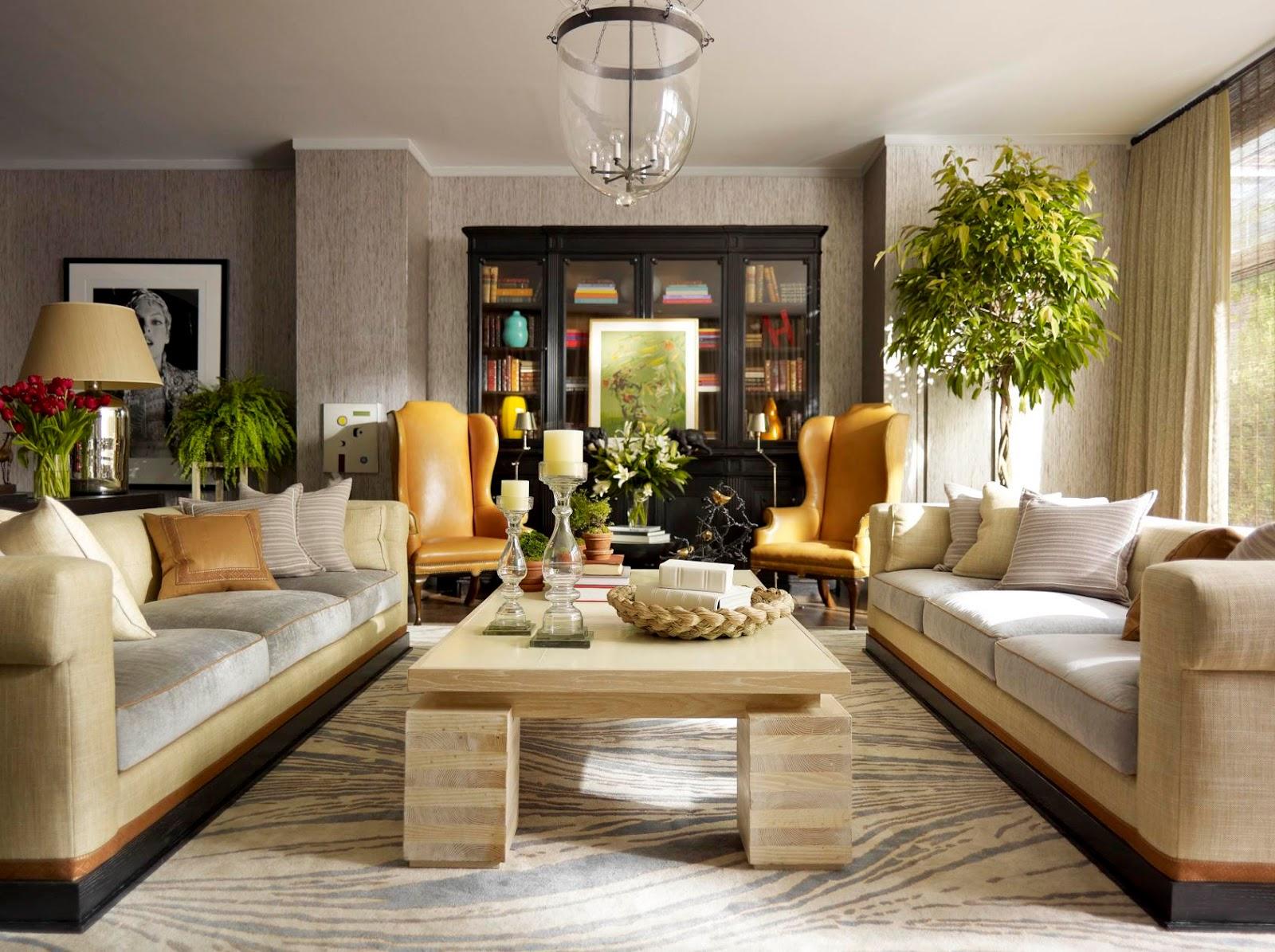 Hogyan alakítsunk ki merész színekkel finoman komponált nappalit ...