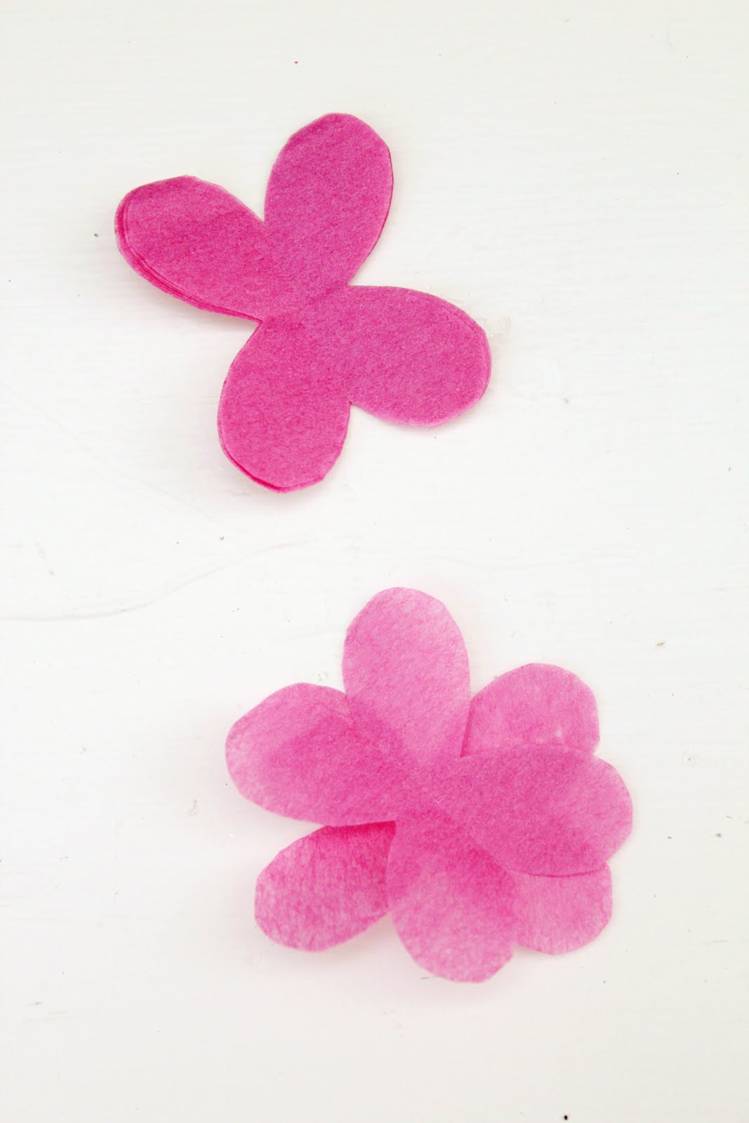 Icing Designs Diy Tissue Paper Flower Cupcake Picks