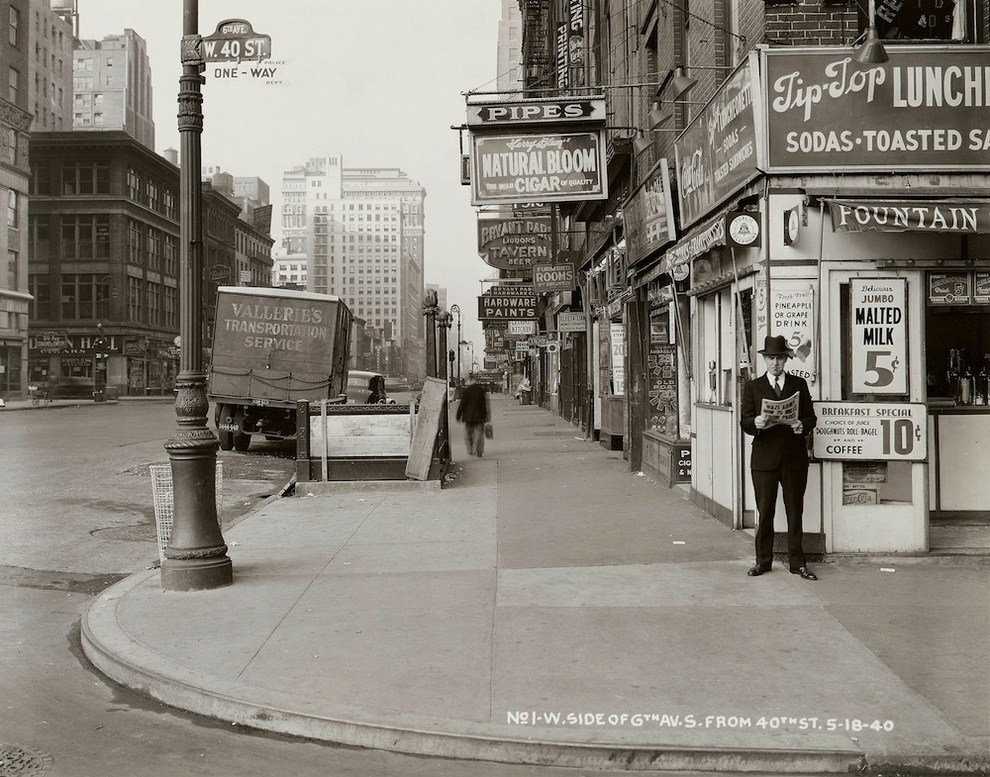 here are 10 amazing black and white photos of vintage new york vintage everyday. Black Bedroom Furniture Sets. Home Design Ideas