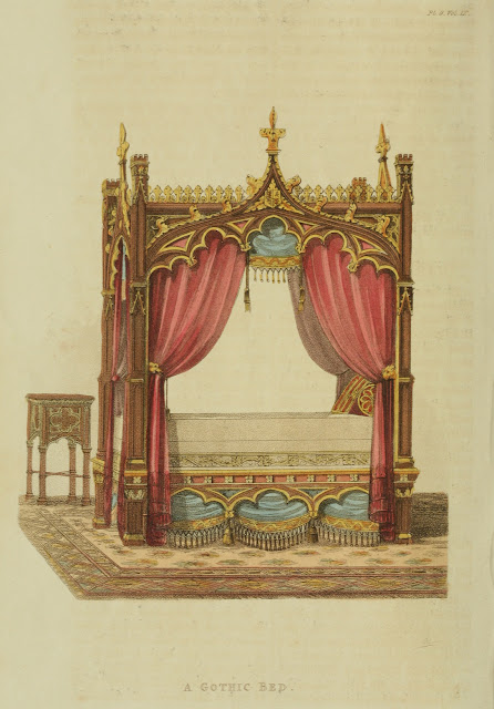 Gothic Looking Bed Frames