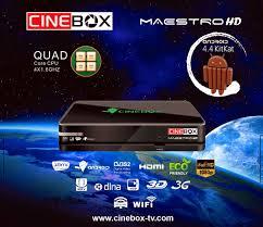 Atualizacao do receptor Cinebox Maestro HD