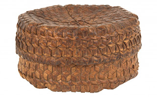 Vintage wicker basket from Bali, via Jayson Home as seen on linenandlavender.net