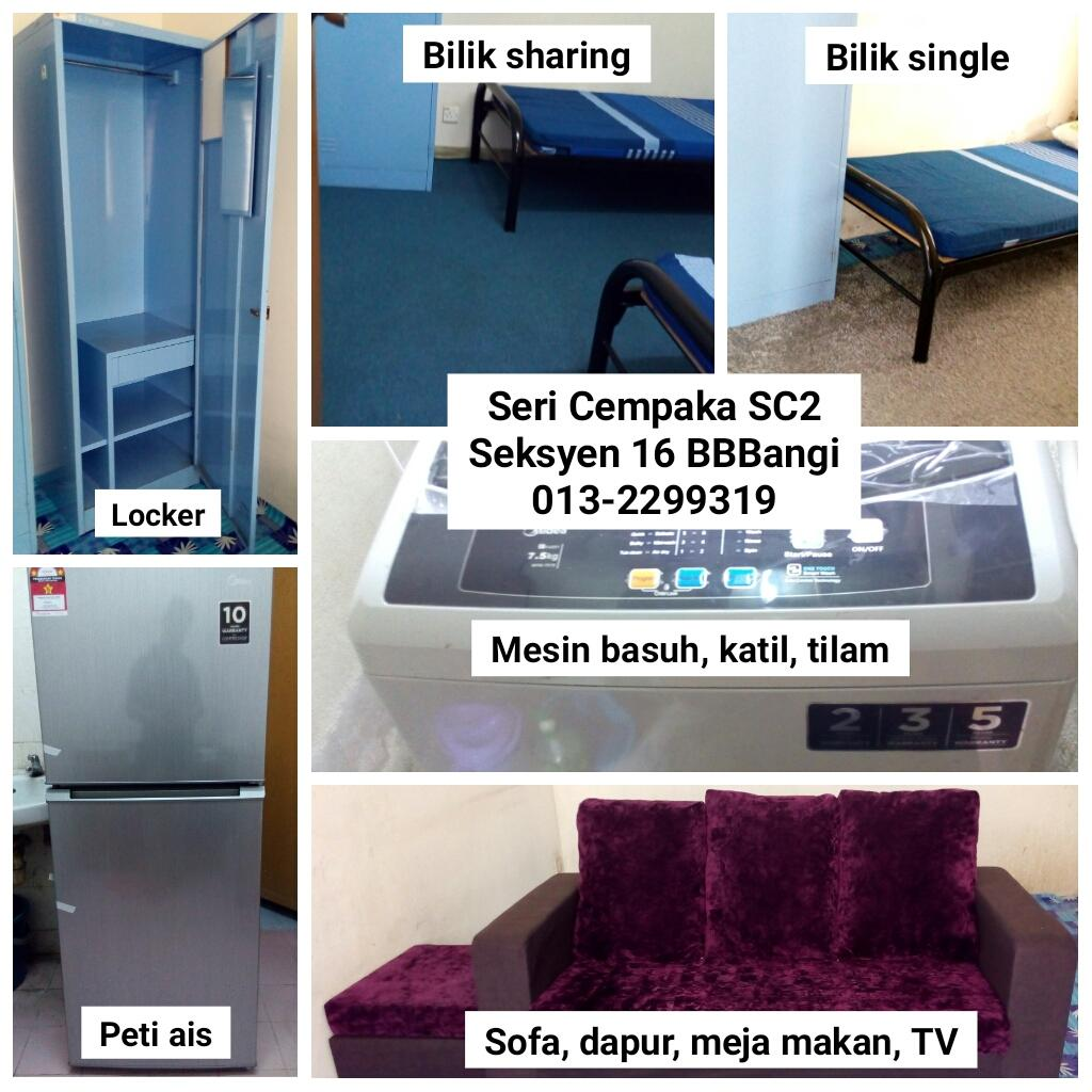 Apartment Seri Cempaka SC2 S16