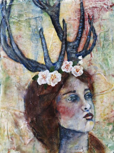 Galia Alena mixed media artist