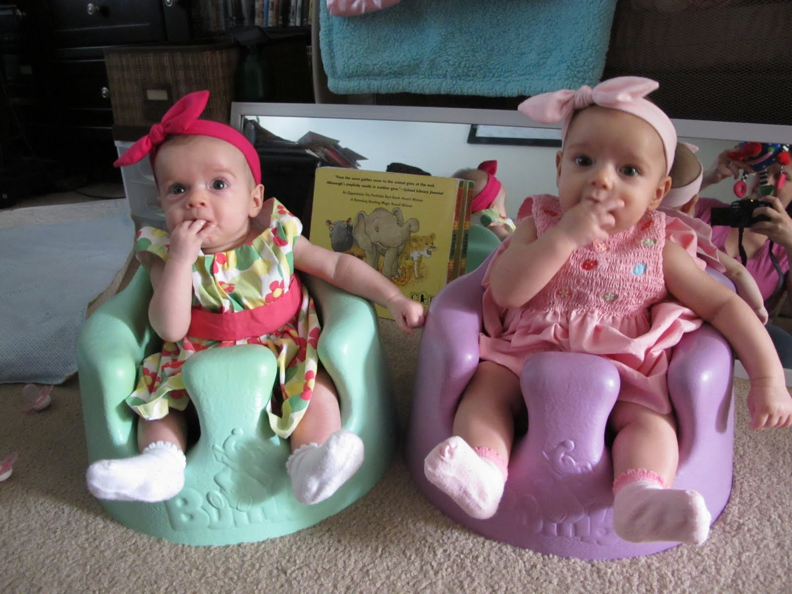 Sanow Twins 3 Months Old