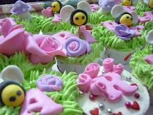 cupcake- garden theme