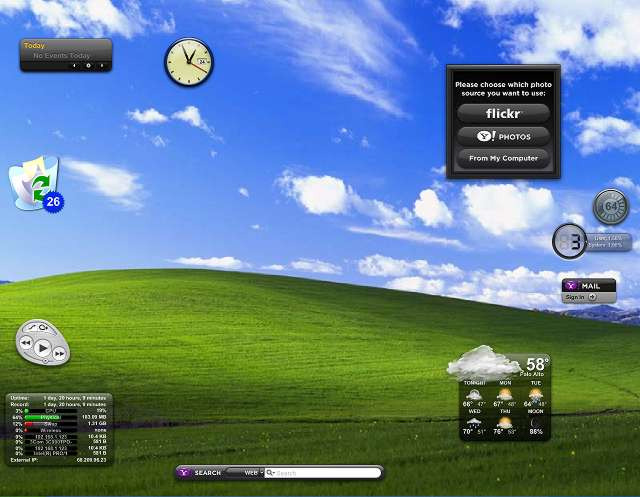 how to add a widget to window 8 desktop