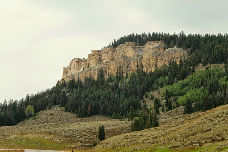 Gorgeous views from the Bighorn Scenic Byway