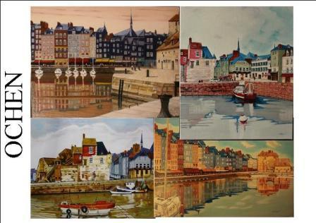 OCHEN artiste peintre havrais