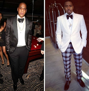 Men's Lounge ; Jay z Vs Nass who Rocked Suits Better