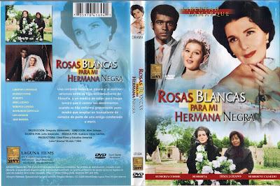 Caratula, cover, dvd: Rosas blancas para mi hermana negra | 1970