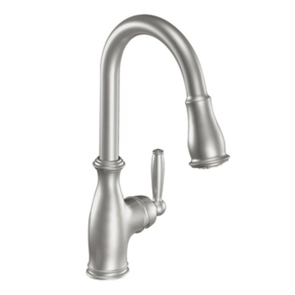 Best Moen 7185csl Brantford One Handle High Arc Pull Down