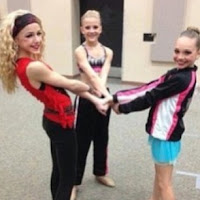 Chloe Paige and Maddie on Dance Moms