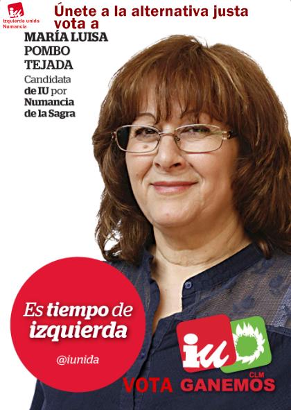 CANDIDATA A LA ALCALDIA DE NUMANCIA