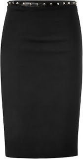 Stud Trend: Pencil Skirt