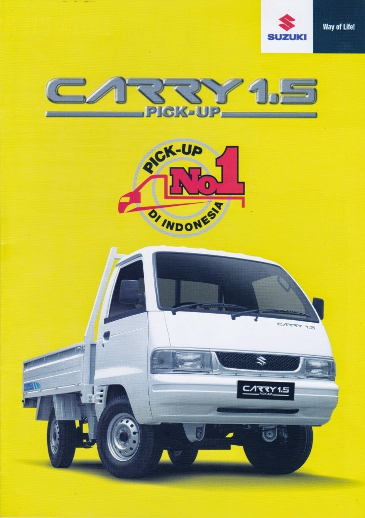 BROSUR SUZUKI CARRY 1.5 FUTURA PICK UP