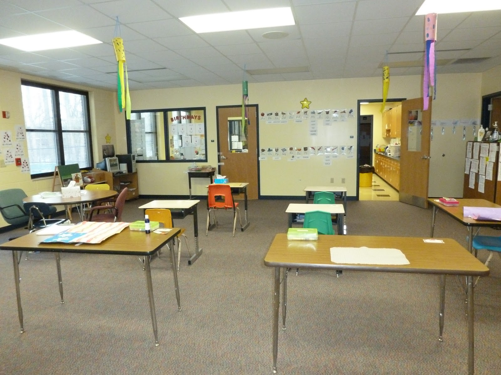 Sped-ventures: Clutter-Free Classroom week 1 challenge: before