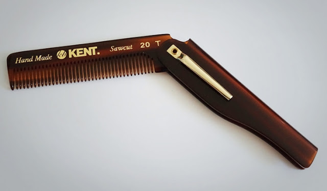 Sisir Lipat - Kent 20T Folding Pocket Comb