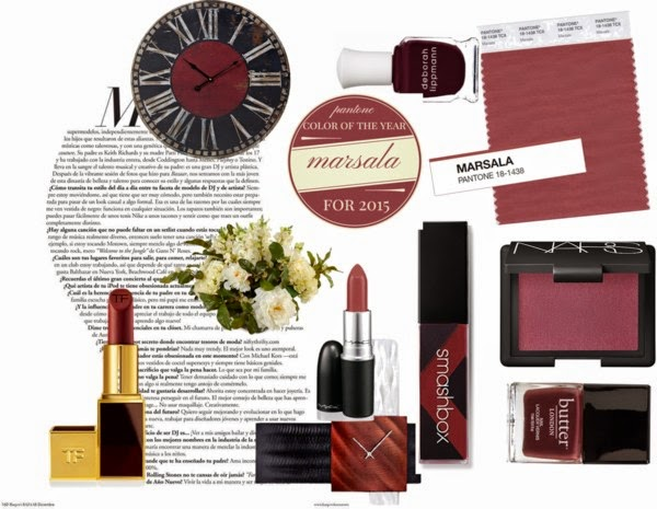Marsala colour of the year