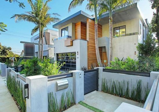 aneka model pagar rumah minimalis modern terbaru 2016
