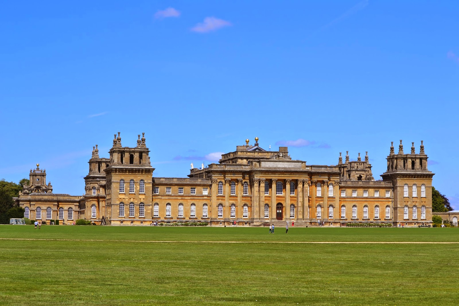 The magnificent Blenheim Palace