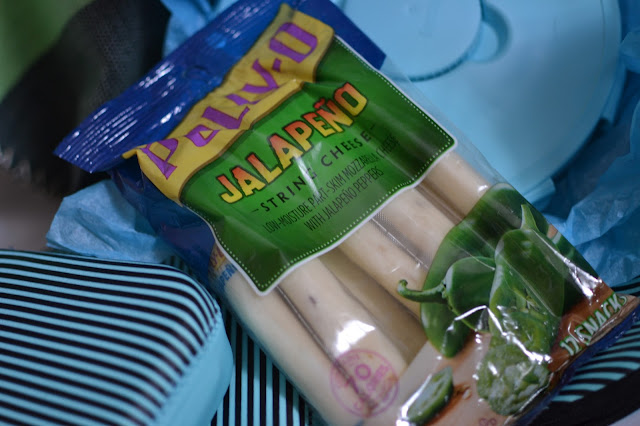 POLLY-O String Cheese: Jalapeno
