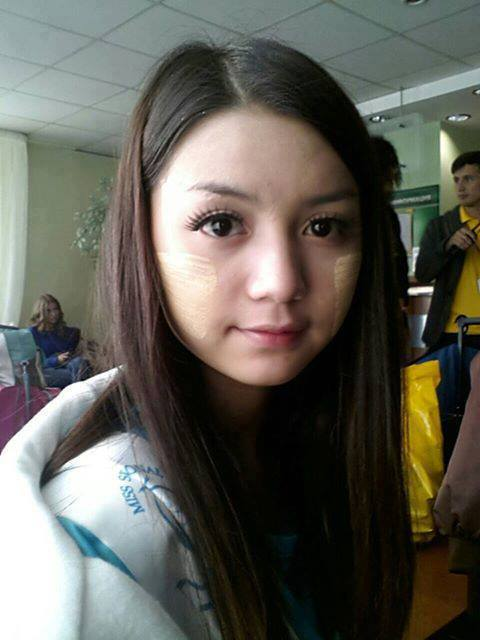 Khin Wint Wah-Myanmar Model Girls
