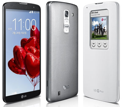 LG G Pro 2 smartphone officially launched
