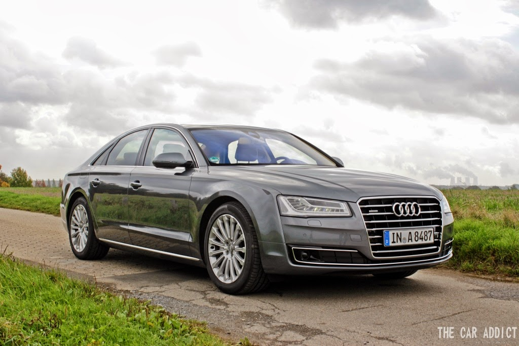 Audi A8 2013 V6 TDI Monsoon Grey