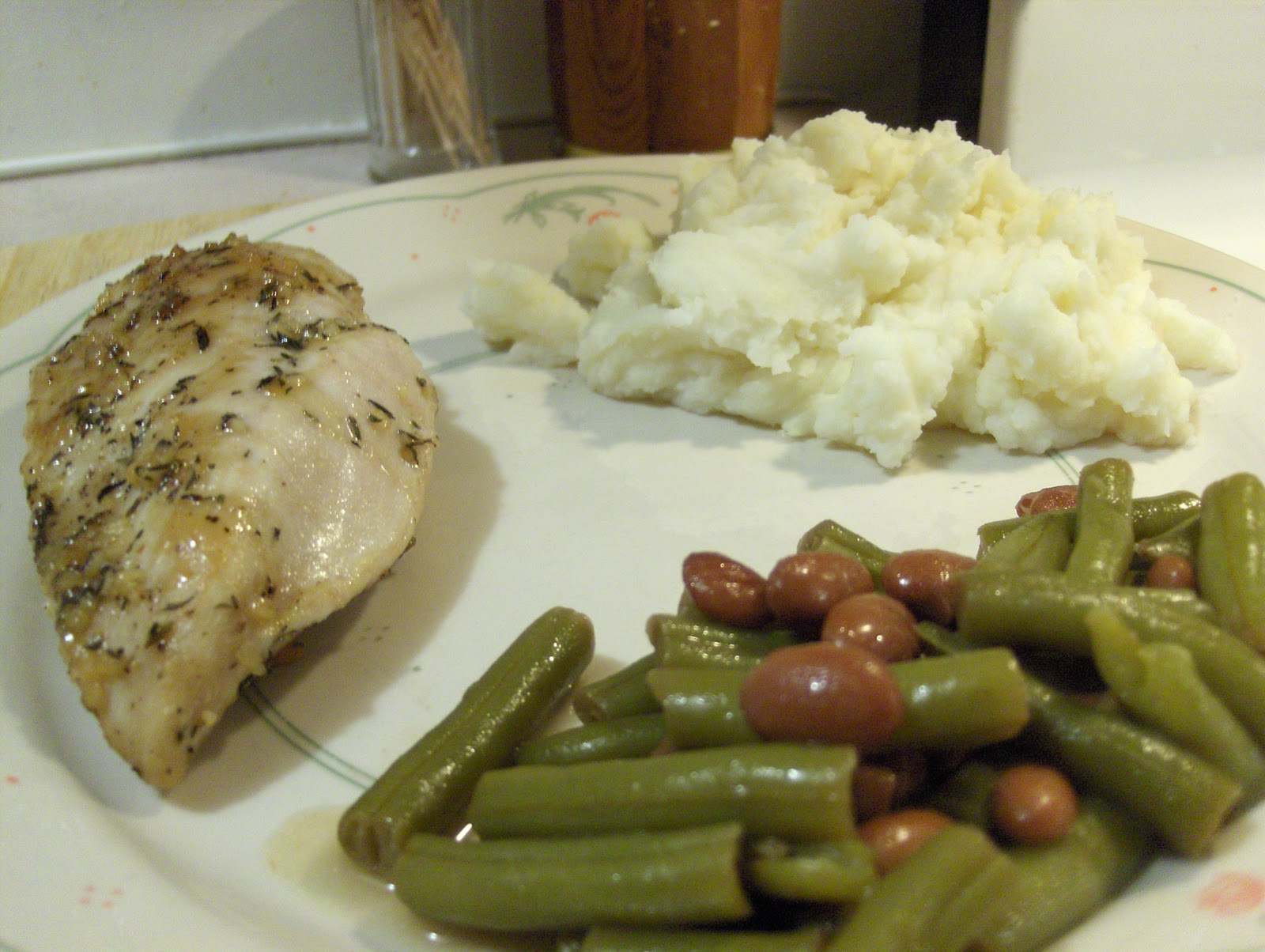 Dinner Tonight Maple Mustard Glazed Chicken W Green Shelly Beans