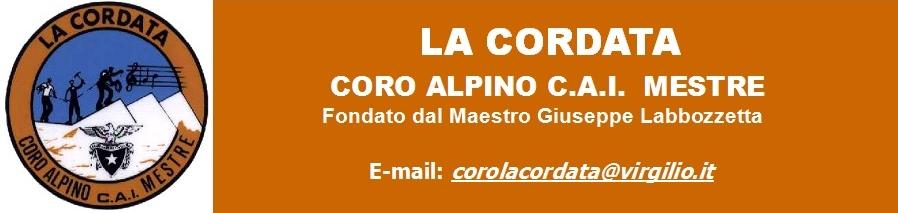 Coro Alpino La Cordata C.A.I.  Mestre