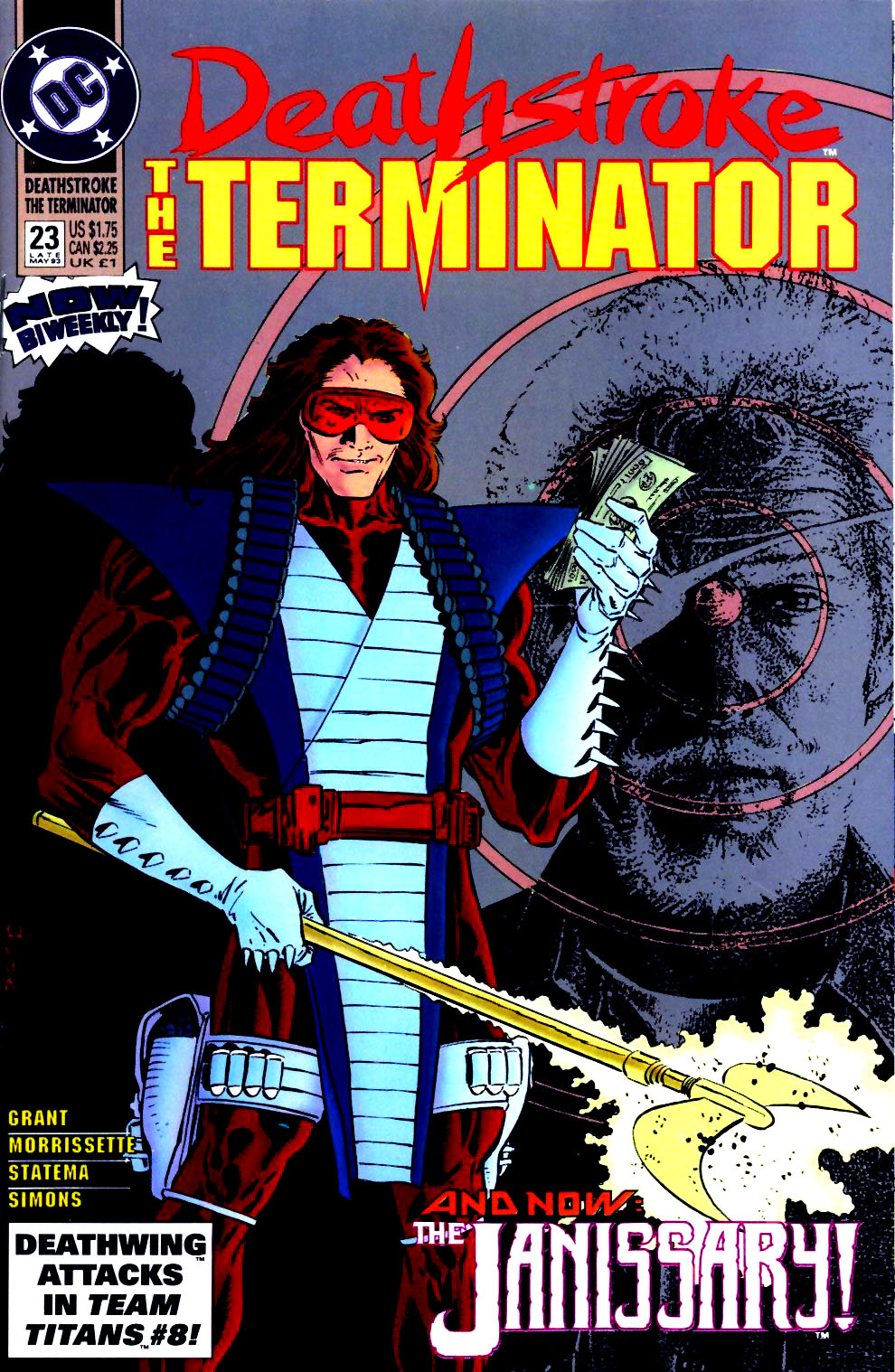 Deathstroke (1991) Issue #23 #28 - English 1
