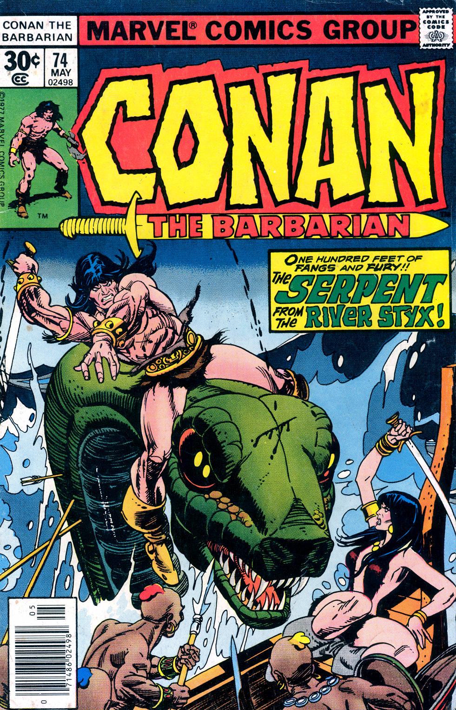 Conan the Barbarian (1970) Issue #74 #86 - English 1