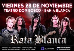 """RATA BLANCA EN EL """"TEATRO DON BOSCO"""" - 28/11/2014"""