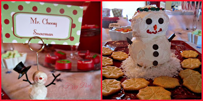 Elf Party, Christmas Party, Fizzy Party, Cheese Snowman