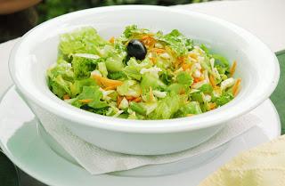 для похудения рецепты диетические салаты