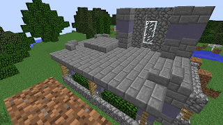 Youssarian S Minecraft Blog Small Stone House With Depth